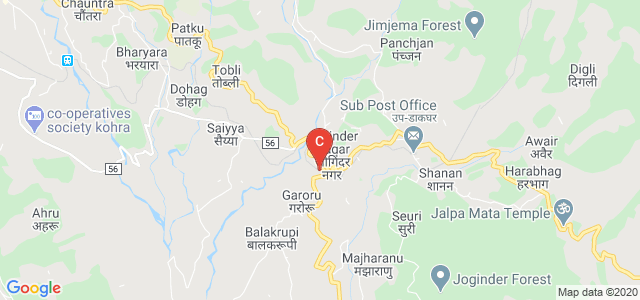 Joginder Nagar, Mandi, Himachal Pradesh 175015, India