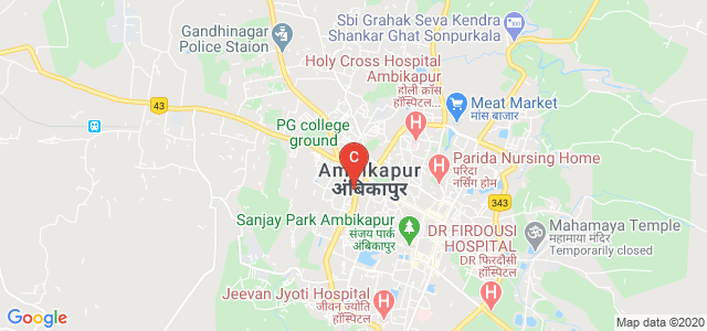 Government Polytechnic, Ambikapur, Government Polytechnic, Outer Ring Road, Near Gandhi chowk, Namnakala, Ambikapur, Chhattisgarh, India