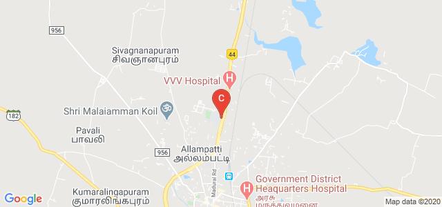 V.V.Vanniaperumal College for Women, GT Nagar, Virudhunagar, Tamil Nadu, India