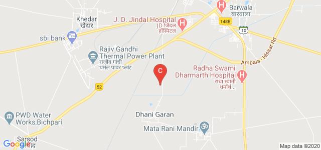 National College of Nursing, Barwala Rural, Haryana, India