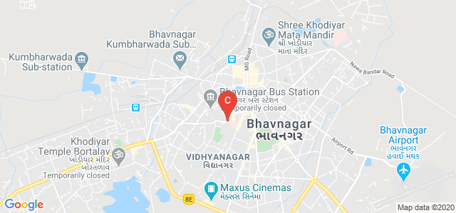 Government College Of Nursing, Kalanala, Devbagh, Bhavnagar, Gujarat, India