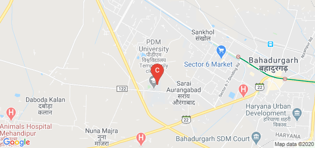 PDM Faculty of Dental Sciences, Sector 3A, Bahadurgarh, Haryana, India