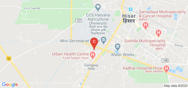 C.R. College of Education HISAR, Rajgarh Rd, Quarter Colony, Azad Nagar, Hisar, Haryana, India