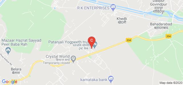 Patanjli Ayurved College, Haridwar, Uttarakhand, India