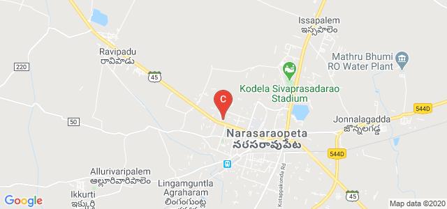 P N C & K R College Of Nursing, Palnadu Road, Kakatiya Nagar, Reddy Nagar, Narasaraopet, Andhra Pradesh, India