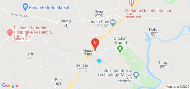 University Polytechnic, BIT, Mesra, BIT Mesra Road, Mesra, Ranchi, Jharkhand, India