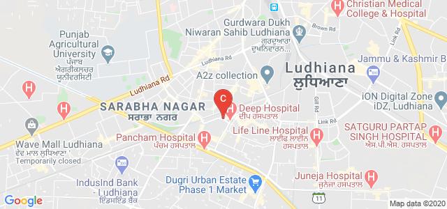 Guru Teg Bahadur Sahib Hospital, Shastri Nagar, Model Town, Ludhiana, Punjab, India