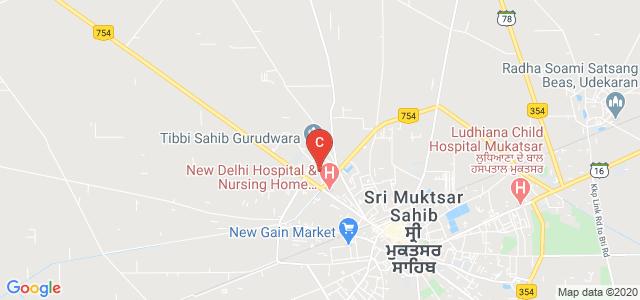 Guru Nanak College, Trnek Uman Area, Sri Muktsar Sahib, Punjab, India