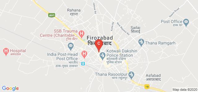 Jalesar Road, Mohan Nagar, Arya Nagar, Firozabad, UP, India