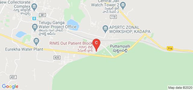 RIMS Kadapa, Puttampalli, Andhra Pradesh, India