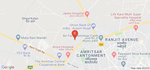Amritsar By Pass Road, Amritsar Cantonment, Amritsar, Punjab 143001, India