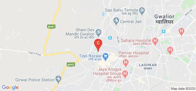 108, Nai Sadak, Shanti Nagar, Bakshi Ki Goth, Gwalior, Madhya Pradesh 474001, India