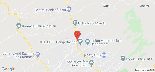 Bantalab Road, Jammu