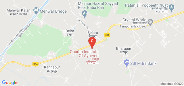 Quadra Institute Of Ayurved, Haridwar Road, Belda, Roorkee, Uttarakhand, India