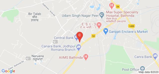Giani Zail Singh Campus College of Engineering & Technology, Lal Singh Nagar, Bathinda, Punjab, India