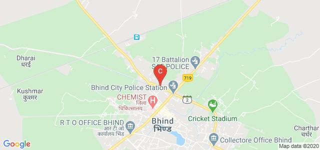 8, Ater Road, Gobind Nagar, Bhind, Madhya Pradesh 477001, India