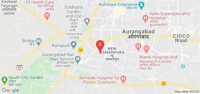 Government College Of Engineering, Aurangabad, Doctor Bhapkar Marg, Rachanakar Colony, New Usmanpura, Aurangabad, Maharashtra, India