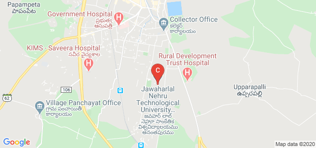 Jawaharlal Nehru Technological University Anantapur, Sir Mokshagundam Visvesvaraya Road, JNTU College Of Engineering, Sharada Nagar, Anantapur, Andhra Pradesh, India