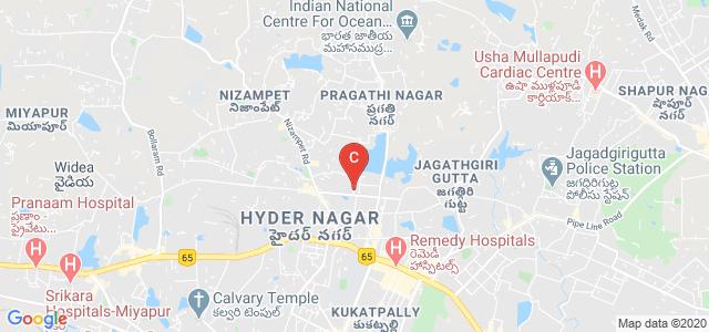 MNR PG COLLEGE, High Tension Line Road, Opposite JNTU, Sreenivasa Nagar, Kukatpally, Hyderabad, Telangana, India