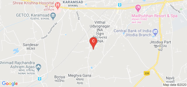 Ashok & Rita Patel Institute of Integrated Study and Research in Biotechnology and Allied Sciences (ARIBAS), New Vallabh Vidyanagar, GIDC, Anand, Gujarat, India