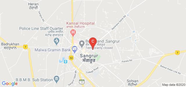 Akal Degree College For Women, Shari Nagan Baba Ji Road, Military Cantonement, Sangrur, Punjab, India