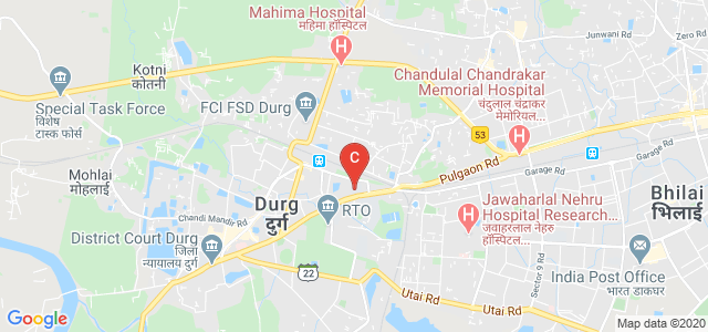 Govt. V.Y.T. Post Graduate Autonomous College, Raipur Naka - Smriti Nagar Road, Deepak Nagar, Malviya Nagar, Durg, Chhattisgarh, India