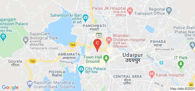 Rabindra Nath Tagore Medical College, Court Chowk, City's Prime Health Care Area, Udaipur, Rajasthan, India