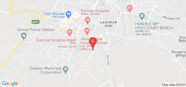 COLLEGE OF LIFE SCIENCE, CANCER HOSPITAL, City Center, Tulsi Vihar Colony, Gwalior, Madhya Pradesh, India