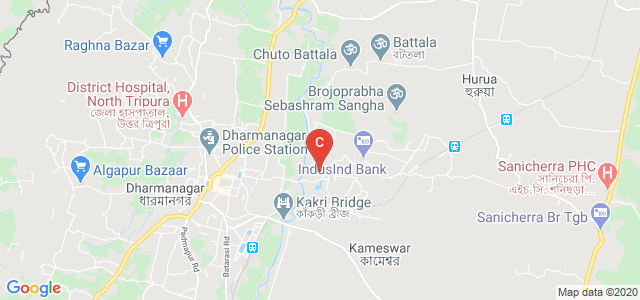 Government Degree College, Dharmanagar, North Tripura, Tripura, India