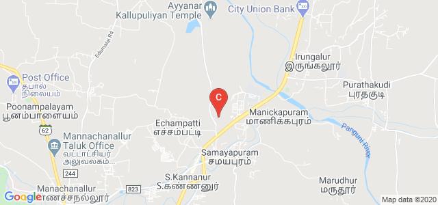 K Ramakrishnan College of Engineering, Samayapuram - Kariyamanickam Road, Tiruchirappalli, Tamil Nadu, India