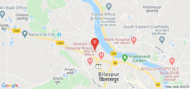 dr. c v raman university bilaspur office, Indrasen Nagar, 27 Kholi, Vikas Nagar, Mangla, Bilaspur, Chhattisgarh, India