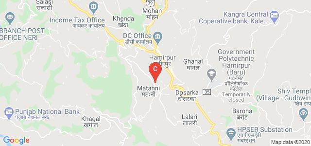 Hamirpur College of Education, Ram Nagar, Hamirpur, Himachal Pradesh, India