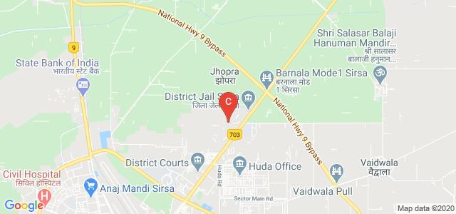 Jan Nayak Ch.Devi Lal Vidyapeeth, Barnala Road, Housing Board Colony, Sirsa, Haryana, India
