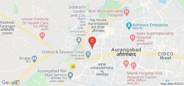 Samarth Nagar Rd, Sahjeevan Colony, Nirala Bazar, Aurangabad, Maharashtra, India