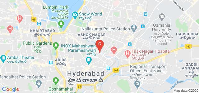 Jahnavi Women's Degree College, Narayanguda Flyover, Chitrapuri Colony, Bagh Lingampalli, Narayanguda, Hyderabad, Telangana, India