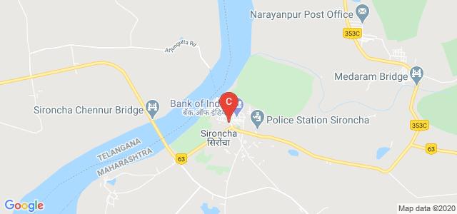 Sironcha Bus Stand, Bus Stop Road, Sironcha, Maharashtra, India