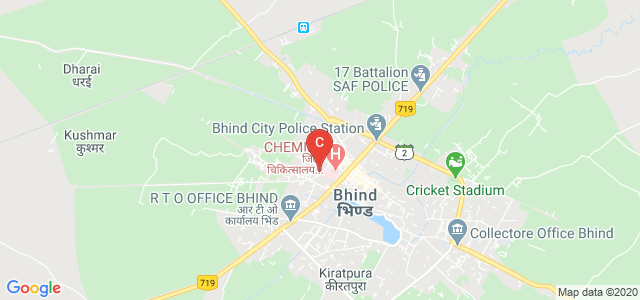 Jain Degree College, Bheem Nagar, Bhind, Madhya Pradesh, India