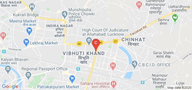 School Of Management Sciences, Sultanpur - Lucknow Rd, Vibhuti Khand, Gomti Nagar, Musafirkhana, Uttar Pradesh, India