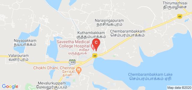 Saveetha Medical College Hospital, Chennai, Kanchipuram, Tamil Nadu, India