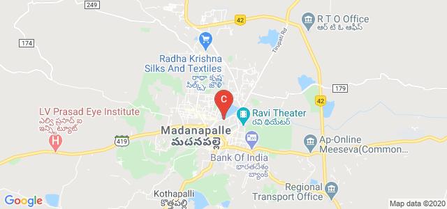 Shri Gnanambika Degree College, Z P High School Road, RRN Colony, Madanapalle, Andhra Pradesh, India