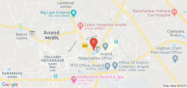 Shree P. M. Patel Institute of P.G. Studies & Research, Mathiya Chora, Anand, Gujarat, India
