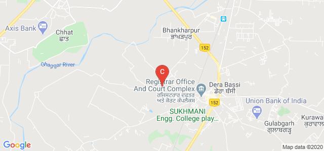 Sri Sukhmani Institute of Nursing, Dera Village, Dera Bassi, Punjab, India