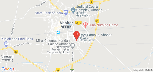DAV Campus, Abohar, Abohar - Hanumangarh Road, South Evenue, Abohar, Punjab, India