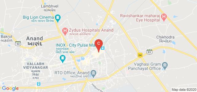 Shree B.G Patel College of Physiotherapy Anand, JP Road, Ganesh Chokdi, Sardar Ganj, Anand, Gujarat, India
