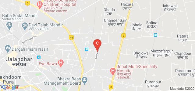 Guru Nanak Dev University, Regional Campus, Jalandhar, Chohak Kallan Village, Jalandhar, Punjab, India