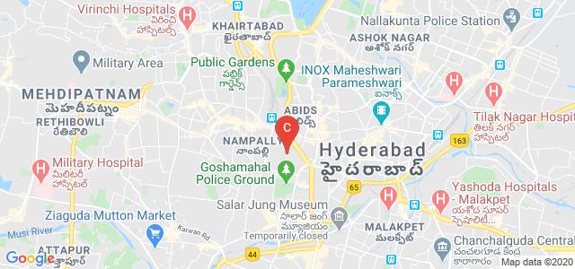 Sarojini Naidu Vanita Maha Vidyalaya, Patel Nagar, Ghosha Mahal North, Nampally, Hyderabad, Telangana, India
