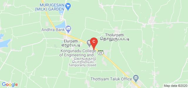 KONGUNADU POLYTECHNIC COLLEGE, Tholurpatti, Tamil Nadu, India