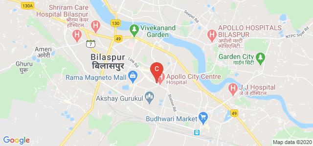 C.M. Dubey Postgraduate College, Bilaspur, CMD Chowk, Telipara, Bilaspur, Chhattisgarh, India