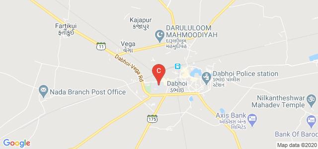 CNPF Arts College Dabhoi, SH 161, Kaumudi Society, Dabhoi, Gujarat, India
