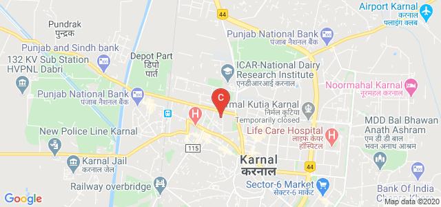 D.A.V. (PG) College, Karnal, Mall Road, MITC Colony, Choudhary Colony, Karnal, Haryana, India